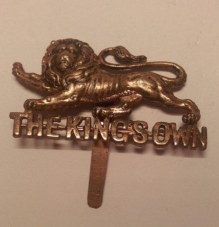 King%27s Own Royal Regiment (Lancaster) Cap Badge