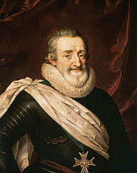 King Henry IV of France.Château du Val à Saint-Germain-en-Laye