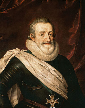 Triple Alliance (1596) - Image: King Henry IV of France