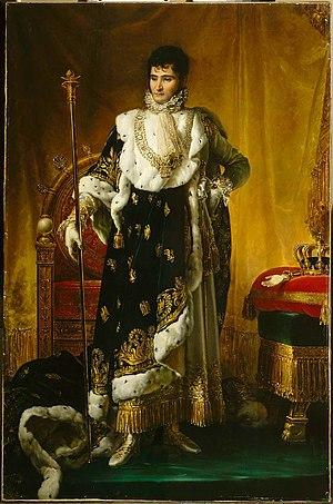 Jérôme Bonaparte - Portrait by François Gérard