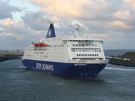 King seaways IJmuiden, December 2011
