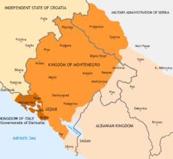 Королівство чорногорія 1941 1944