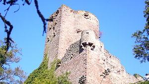 Château de Kintzheim - Keep of the Château de Kintzheim