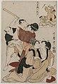 Kitagawa Utamaro - Chushingura- Act III of The Storehouse of Loyalty - 1921.313 - Cleveland Museum of Art.jpg