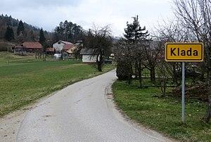 Klada, Škofljica - Image: Klada Skofljica Slovenia