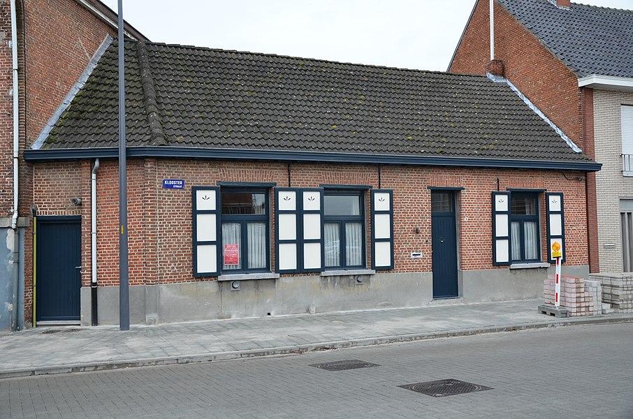 """Dorpswoning, zgn. """"Kloosterwoning"""", Kloosterstraat 96, Wuustwezel"""