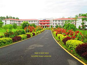 Tezpur University - Kanchenjunga Men's Hostel, Tezpur University
