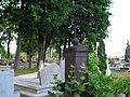 Kościelec cmentarz-nagrobek z 1850 r. (26.VI.2006).JPG