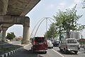 Kolkata Gate Under Construction - Rabindra Tirtha Crossing - Rajarhat 2017-03-30 0846.JPG