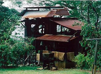 Kona coffee - Old mill at the Kona Coffee Living History Farm