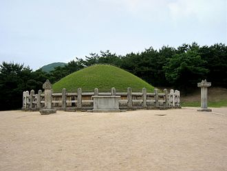 Gim Yu-sin - Tomb of General Gim Yu-sin in Gyeongju