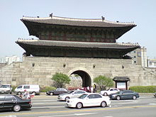 IMAGE(http://upload.wikimedia.org/wikipedia/commons/thumb/d/da/Korea-Seoul-Dongdaemun_gate.jpg/220px-Korea-Seoul-Dongdaemun_gate.jpg)