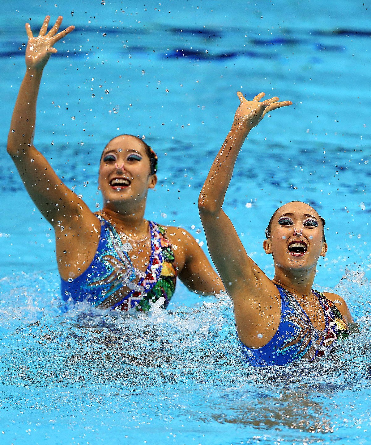 synchronized swimming at the 2012 summer olympics