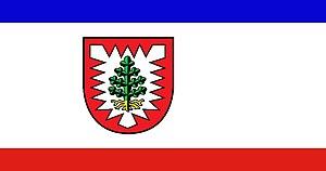 Pinneberg (district) - Image: Kreis Pinneberg flag