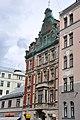 Krišjāņa Barona iela 44 no Lāčplēša ielas puses, Rīga, Latvia - panoramio.jpg