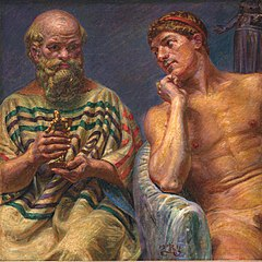 Socrates and Alcibiades