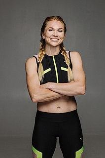 Khrystyna Stuy Ukrainian sprinter