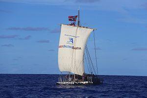 Kon-Tiki2 - Balsa raft Rahiti Tane sailing from Peru to Easter Island December 2015