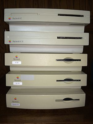 Macintosh LC - The LC family (LC, II, III, 475, Quadra 605) front face
