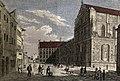 Kupferstich - München - Kaufingerstr - Wilhelminum und Michaelskirche - 1789.jpg
