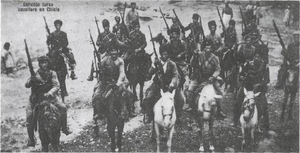 Kuva-yi Milliye - Kuvay-i Milliye millitias. The original image was dated 1919.