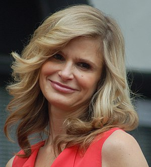 Kyra Sedgwick receiving a star at the Hollywoo...