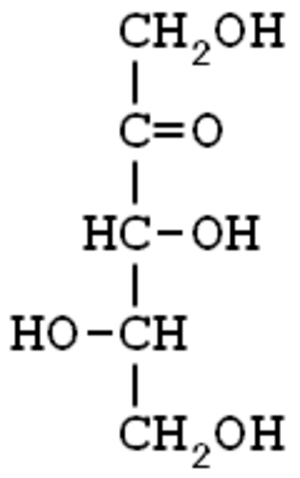 Xylulose - Image: L xylulose