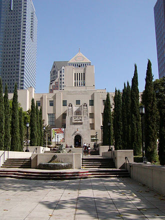 Los Angeles Public Library - Los Angeles Central Library at Flower Street