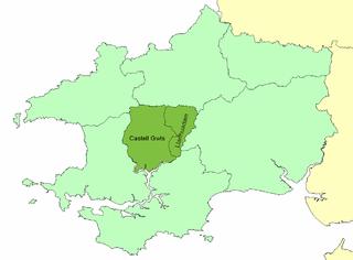 Dungleddy human settlement in United Kingdom