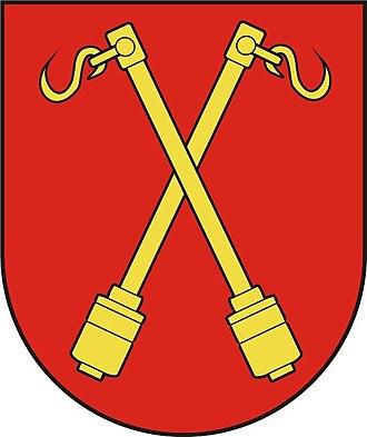 Skaudvilė - Image: LIT Skaudwile COA