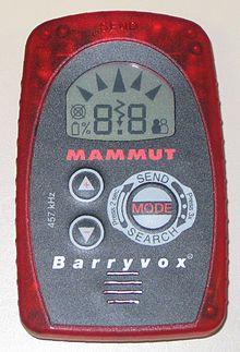 LVS Gerät von Mammut lawinenrucksack-test