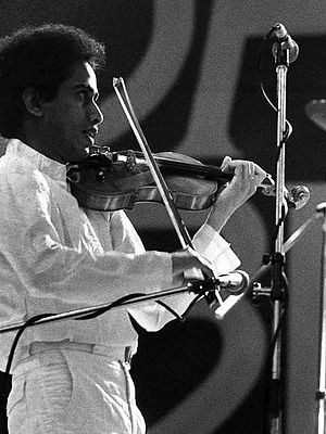 L. Shankar - Shankar in One Truth Band, Jazz Bilzen 1978 performing with John McLaughlin
