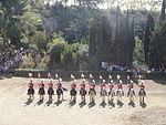 La Mercè - Hípica La Foixarda - Exhibició de la unitat muntada de la Guardia Urbana 02.JPG