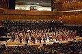 La Orquesta Sinfónica Nacional tocó el Himno Nacional en el CCK (18063534652).jpg
