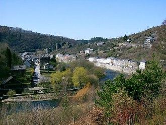 Ourthe - Image: La Roche