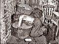 La salle de bain du mineur au Pays de Galles, début du 20e siècle.jpg