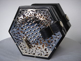 English concertina Type of concertina