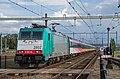 Lage Zwaluwe NMBS 2802 E186 124 met IC Den Haag HS (14926217046).jpg