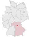 Lage des Landkreises Erlangen-Höchstadt in Deutschland.png