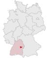 Lage des Landkreises Goeppingen in Deutschland.png
