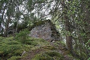 Ruine Lagenberg, Nordseite