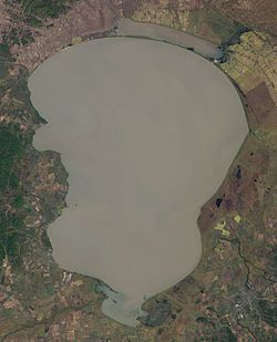 Lake Khanka Landsat 7 2001-09-25.jpg