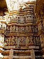 Lakshmana Temple Western Group of Temples Khajuraho India - panoramio (4).jpg