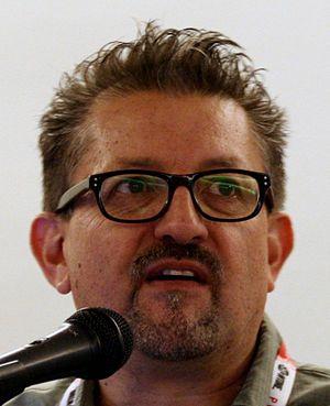 Lalo Alcaraz - Alcaraz at Comic-Con 2015