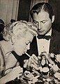 Lana Turner and Lex Barker by Bob Beerman, 1953.jpg