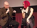 Lana and Lilly Wachowski at Fantastic Fest.jpg