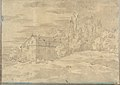 Landscape with Villa Surrounded by Trees (Smaller Italian Sketchbook, leaf 22 recto) MET DP269431.jpg