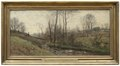 Landscape with a Running Brook. Scene from the Carolles in Normandy (Per Ekström) - Nationalmuseum - 19219.tif