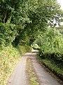 Lane near Combebow - geograph.org.uk - 249969.jpg
