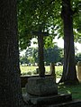 Lanmérin. Saint-Jérome. Croix dans les arbres.jpg